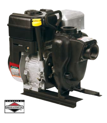 "1½"" & 2"" Gas Driven Cast Iron Self-Priming Centrifugal Pump"