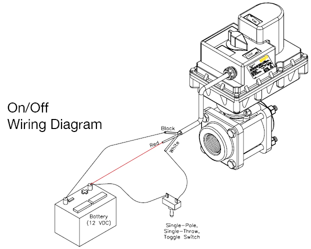 On/Off Wiring Diagram