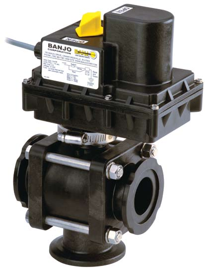 "3-WAY BOTTOM LOAD ELECTRIC MANIFOLD VALVES 1"", 1½"", & 2"" FULL PORT"