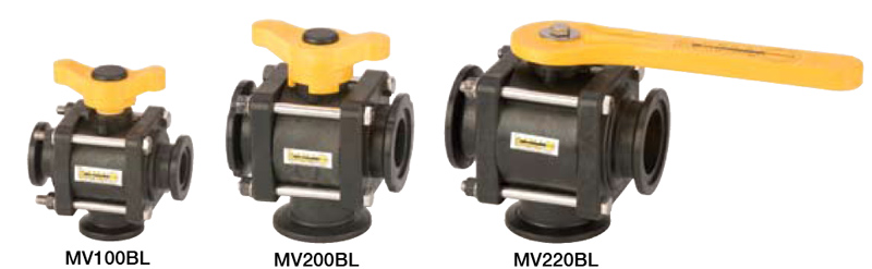 4 BOLT BOTTOM LOAD MANIFOLD VALVES