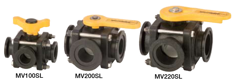 4 BOLT SIDE LOAD MANIFOLD VALVES